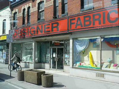 Designer Fabric Location