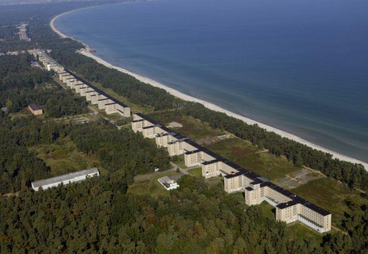 Insel R¿ºgen, Luftbild des KdF-Seebades Prora