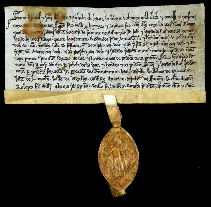 DL25-2890-Nichola-de-Haia-grant-of-eight-acres-late-of-Peter-son-of-Alberge-Lincolnshire-1201-1266